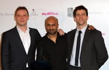 Akram Khan Photo - London UK Winner of the South Bank Sky Arts Awards Dance Akram Khan (C) poses with presenters Ballet Boyz at South Bank Sky Arts Awards 2011 -  Winners Press Room at the Dorchester in London 25th January 2011Evil ImagesLandmark Media
