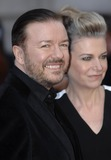 The Muppets Photo - London UK Ricky Gervais  Jane Fallon at the VIP screening of The Muppets Most Wanted at The Curzon Mayfair in London on March 24 2014Ref LMK386-47971-250312Gary MitchellLandmark MediaWWWLMKMEDIACOM