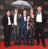Janie Dee Photo - London UK Janie Dee and family at The Olivier Awards 2018 held at The Royal Albert Hall Kensington Gore South Kensington London on Sunday 8 April 2018Ref LMK392-J1868-090418Vivienne VincentLandmark Media WWWLMKMEDIACOM