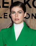 Michael Kors Photo - MANHATTAN NEW YORK CITY NEW YORK USA - FEBRUARY 12 Actress Alexandra Daddario arrives at the Michael Kors Collection FallWinter 2020 Runway Show - February 2020 during New York Fashion Week held at the American Stock Exchange on February 12 2020 in Manhattan New York City New York United States (Photo by Image Press Agency)