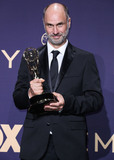 Jesse Armstrong Photo - LOS ANGELES CALIFORNIA USA - SEPTEMBER 22 Jesse Armstrong poses in the press room at the 71st Annual Primetime Emmy Awards held at Microsoft Theater LA Live on September 22 2019 in Los Angeles California United States (Photo by Xavier CollinImage Press Agency)