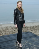 Amber Heard Photo - MALIBU LOS ANGELES CALIFORNIA USA - JUNE 06 Actress Amber Heard arrives at the Saint Laurent Mens Spring Summer 20 Show held at Paradise Cove Beach on June 6 2019 in Malibu Los Angeles California United States (Photo by Xavier CollinImage Press Agency)