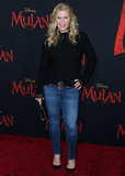 Alison Sweeney Photo - HOLLYWOOD LOS ANGELES CALIFORNIA USA - MARCH 09 Alison Sweeney arrives at the World Premiere Of Disneys Mulan held at the El Capitan Theatre and Dolby Theatre on March 9 2020 in Hollywood Los Angeles California United States (Photo by Xavier CollinImage Press Agency)