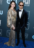 Adam Shulman Photo - SANTA MONICA LOS ANGELES CALIFORNIA USA - JANUARY 12 Anne Hathaway and Adam Shulman arrive at the 25th Annual Critics Choice Awards held at the Barker Hangar on January 12 2020 in Santa Monica Los Angeles California United States (Photo by Xavier CollinImage Press Agency)