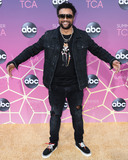 Shaggy Photo - WEST HOLLYWOOD LOS ANGELES CALIFORNIA USA - AUGUST 05 Musician Shaggy (Orville Richard Burrell CD) arrives at the Disney ABC Television Group TCA Summer Press Tour All-Star Party 2019 held at Soho House West Hollywood on August 5 2019 in West Hollywood Los Angeles California United States (Photo by Xavier CollinImage Press Agency)