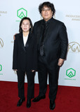 Sinful Photo - HOLLYWOOD LOS ANGELES CALIFORNIA USA - JANUARY 18 Kwak Sin-ae and Bong Joon-ho arrive at the 31st Annual Producers Guild Awards held at the Hollywood Palladium on January 18 2020 in Hollywood Los Angeles California United States (Photo by Xavier CollinImage Press Agency)