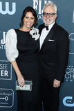 Amy Landecker Photo - SANTA MONICA LOS ANGELES CALIFORNIA USA - JANUARY 12 Amy Landecker and Bradley Whitford arrive at the 25th Annual Critics Choice Awards held at the Barker Hangar on January 12 2020 in Santa Monica Los Angeles California United States (Photo by Xavier CollinImage Press Agency)