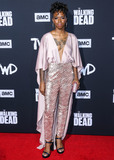 Angel Theory Photo - HOLLYWOOD LOS ANGELES CALIFORNIA USA - SEPTEMBER 23 Angel Theory arrives at the Los Angeles Special Screening Of AMCs The Walking Dead Season 10 held at the TCL Chinese Theatre IMAX on September 23 2019 in Hollywood Los Angeles California United States (Photo by Xavier CollinImage Press Agency)