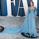 Valentino Photo - BEVERLY HILLS LOS ANGELES CALIFORNIA USA - FEBRUARY 09 Actress Zoey Deutch wearing Valentino arrives at the 2020 Vanity Fair Oscar Party held at the Wallis Annenberg Center for the Performing Arts on February 9 2020 in Beverly Hills Los Angeles California United States (Photo by Xavier CollinImage Press Agency)