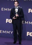 Bill Hader Photo - LOS ANGELES CALIFORNIA USA - SEPTEMBER 22 Bill Hader poses in the press room at the 71st Annual Primetime Emmy Awards held at Microsoft Theater LA Live on September 22 2019 in Los Angeles California United States (Photo by Xavier CollinImage Press Agency)