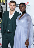 TCL Chinese Theatre Photo - (FILE) Joshua Jackson and Wife Jodie Turner-Smith Welcome a Daughter HOLLYWOOD LOS ANGELES CALIFORNIA USA - NOVEMBER 14 Actor Joshua Jackson and girlfriendactress Jodie Turner-Smith arrive at the AFI FEST 2019 - Opening Night Gala - Premiere Of Universal Pictures Queen And Slim held at the TCL Chinese Theatre IMAX on November 14 2019 in Hollywood Los Angeles California United States (Photo by Xavier CollinImage Press Agency)