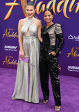Nadine Velazquez Photo - HOLLYWOOD LOS ANGELES CALIFORNIA USA - MAY 21 Nadine Velazquez and singer Christina Milian arrive at the World Premiere Of Disneys Aladdin held at the El Capitan Theatre on May 21 2019 in Hollywood Los Angeles California United States (Photo by Xavier CollinImage Press Agency)
