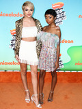 JJ Totah Photo - LOS ANGELES CA USA - MARCH 23 JJ Totah and Skai Jackson arrive at Nickelodeons 2019 Kids Choice Awards held at the USC Galen Center on March 23 2019 in Los Angeles California United States (Photo by Xavier CollinImage Press Agency)