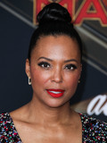 Aisha Tyler Photo - HOLLYWOOD LOS ANGELES CA USA - MARCH 04 Actress Aisha Tyler arrives at the World Premiere Of Marvel Studios Captain Marvel held at the El Capitan Theatre on March 4 2019 in Hollywood Los Angeles California United States (Photo by Xavier CollinImage Press Agency)