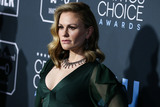 Anna Paquin Photo - SANTA MONICA LOS ANGELES CA USA - JANUARY 13 Actress Anna Paquin wearing a Jenny Packham dress Chloe Gosselin shoes Neil Lane jewelry and a Nancy Gonzalez clutch arrives at the 24th Annual Critics Choice Awards held at the Barker Hangar on January 13 2019 in Santa Monica Los Angeles California United States (Photo by Xavier CollinImage Press Agency)