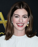 Ann Hathaway Photo - BEVERLY HILLS LOS ANGELES CA USA - NOVEMBER 04 Actress Anne Hathaway wearing a Valentino dress a Tyler Ellis clutch and jewelry from Anabela Chan and Kallati arrives at the 22nd Annual Hollywood Film Awards held at The Beverly Hilton Hotel on November 4 2018 in Beverly Hills Los Angeles California United States (Photo by Xavier CollinImage Press Agency)