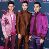Jonas Brothers Photo - BEVERLY HILLS LOS ANGELES CALIFORNIA USA - FEBRUARY 27 Nick Jonas Kevin Jonas and Joe Jonas of Jonas Brothers arrive at The Womens Cancer Research Funds An Unforgettable Evening Benefit Gala 2020 held at the Beverly Wilshire A Four Seasons Hotel on February 27 2020 in Beverly Hills Los Angeles California United States (Photo by Xavier CollinImage Press Agency)