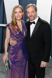 Judd Apatow Photo - BEVERLY HILLS LOS ANGELES CALIFORNIA USA - FEBRUARY 09 Leslie Mann and Judd Apatow arrive at the 2020 Vanity Fair Oscar Party held at the Wallis Annenberg Center for the Performing Arts on February 9 2020 in Beverly Hills Los Angeles California United States (Photo by Xavier CollinImage Press Agency)