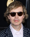 Beck Photo - LOS ANGELES CA USA - FEBRUARY 10 Singer Beck Hansen wearing Gucci arrives at the 61st Annual GRAMMY Awards held at Staples Center on February 10 2019 in Los Angeles California United States (Photo by Xavier CollinImage Press Agency)