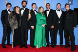 Amy Pascal Photo - BEVERLY HILLS LOS ANGELES CA USA - JANUARY 06 Phil Lord Amy Pascal Robert Persichetti Jr Chris Miller Christina Steinberg Peter Ramsey Rodney Rothman and Avi Arad pose in the press room at the 76th Annual Golden Globe Awards held at The Beverly Hilton Hotel on January 6 2019 in Beverly Hills Los Angeles California United States (Xavier CollinImage Press Agency)
