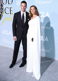 Giselle Bundchen Photo - BEVERLY HILLS LOS ANGELES CA USA - FEBRUARY 21 Football quarterback Tom Brady and wifemodel Gisele Bundchen arrive at the 2019 Hollywood For Science Gala held at a Private Estate on February 21 2019 in Beverly Hills Los Angeles California United States (Photo by Xavier CollinImage Press Agency)