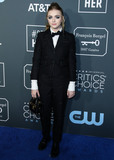 THOM BROWN Photo - SANTA MONICA LOS ANGELES CA USA - JANUARY 13 Actress Elsie Fisher wearing Thom Browne arrives at the 24th Annual Critics Choice Awards held at the Barker Hangar on January 13 2019 in Santa Monica Los Angeles California United States (Photo by Xavier CollinImage Press Agency)