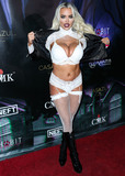 Pel Photo - WOODLAND HILLS LOS ANGELES CALIFORNIA USA - OCTOBER 19 Actress Lindsey Pelas arrives at Karma Internationals 2019 Kandy Halloween Party on October 19 2019 in Woodland Hills Los Angeles California United States (Photo by Xavier CollinImage Press Agency)