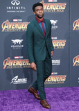 TCL Chinese Theatre Photo - (FILE) Chadwick Boseman Dead at 43 After Battle With Colon Cancer HOLLYWOOD LOS ANGELES CALIFORNIA USA - APRIL 23 Actor Chadwick Boseman arrives at the World Premiere Of Disney And Marvels Avengers Infinity War held at the El Capitan Theatre Dolby Theatre and TCL Chinese Theatre IMAX on April 23 2018 in Hollywood Los Angeles California United States (Photo by Xavier CollinImage Press Agency)