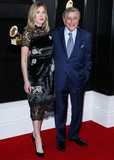 Tony Bennett Photo - LOS ANGELES CA USA - FEBRUARY 10 Diana Krall and Tony Bennett arrive at the 61st Annual GRAMMY Awards held at Staples Center on February 10 2019 in Los Angeles California United States (Photo by Xavier CollinImage Press Agency)
