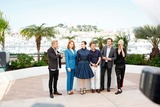 Amira Casar Photo - Jeremie Renier Lea Seydoux Amira Casar Gaspard Ulliel and Aymeline Valade Saint-laurent Photo Call Cannes Film Festival 2014 Cannes France May 17 2014 Roger Harvey