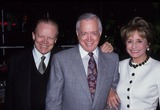 Hugh Downs Photo - Hugh Downs with Barbara Walters and Hohn Cannon Houg Downs Honored by New York Chapter National Academy 1992 L3380 Photo by Stephen Trupp-Globe Photos Inc