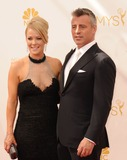Andrea Anders Photo - Matt Leblanc Andrea Anders attending the 66th Annual Primetime Emmy Awards -Arrivals Held at the Nokia Theatre in Los Angeles California on August 25 2014 Photo by D Long- Globe Photos Inc