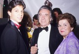 Arthur Miller Photo - Arthur Miller with Wife and Ralph Macchio F0006 Photo by Nate Cutler-Globe Photos Inc