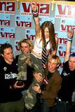 Avril Lavigne Photo - Avril Lavigne and Band K26001jbb Sd0829 Arrivals of the Mtv 2002 Vedio Music Awards at Radio City Music Hall in New York City Photo Byjohn BarrettGlobe Photos Inc