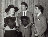 Paul Petersen Photo - Paul Petersen with Rex Harrison and Tony Franciosa at the Best Dressed Awards Presented by the Mens and Boys Apparel Club of California Supplied by Globe Photos Inc