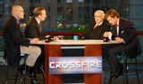 Tucker Carlson Photo - Exclusive K40231wr Taping of  Crossfire  in New York City 1122004 Photo Bywilliam ReganGlobe Photos Inc 2004 James Carville Paul Begala Robert Novak and Tucker Carlson