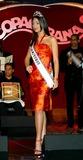Amelia Vega Photo - the Newly Crowned Miss Universe 2003 Amelia Vega at the Legendary New York Nightclub the Copacabana in New York City 6102003 Photo Byrick MacklerrangefindersGlobe Photos Inc