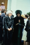 Andy Warhol Photo - Grace Jones with Andy Warhol F2567 Supplied by Globe Photos Inc