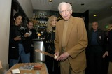Sidney Sheldon Photo - Sidney Sheldon and Wife Alexandra Sheldon at Sidney Sheldons 88th Birthday Party at the Camelot Theater in Palm Springs CA 2-10-2005 Photo Byned Redway-Globe Photos Inc 2005