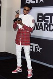 August Alsina Photo - August Alsina Poses in the Press Room During the Bet Awards 14 on June 29th 2014 at Nokia Theatre LA Livelos Angeles californiausaphototleopoldGlobephotos