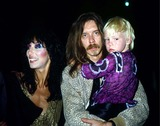 Elijah Blue Allman Photo - Cher with Les Dudek and Her Son Elijah Blue Allman in Los Angeles 6-6-1981 11702 Photo by Phil Roach-ipol-Globe Photos Inc