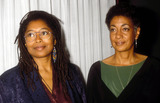 Alice Walker Photo - 1989 Alice Walker and June Jordan Photo by Christine Douglas-Globe Pohogos
