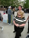 Bonnie Lee Bakley Photo - robert Blake Bail Hearing Van Nuys Superior Court Van Nuys CA 05012002 Margerry Bakley (Sister of Bonny Lee Bakley) Photo by Milan RybaGlobe Pphotosinc2002 (D)