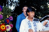 Cesar Chavez Photo - Cesar Chavez and Dennis Weaver Photo Bybob NobleGlobe Photos