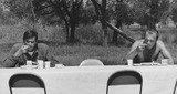 Gary Cooper Photo - Anthony Perkinsgary Cooper Photo Don OrnitzGlobe Photos Inc