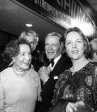 Fred Astaire Photo - Fred Astaire with Sister Adele Astaire and Daughter Ava Astaire 1974 Photo by Globe Photos Inc