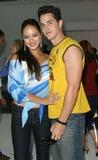 Nathan Lavezoli Photo - Marisa Ramirez and Husband Nathan Lavezoli - 2b Free - Fashion Show Smashbox Studios - Culver City CA - 10272003 - Photo by Nina PrommerGlobe Photos Inc2003