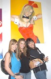 Deanna Brooks Photo - Playmate Artist Victoria Fuller Art Exhibition at the Wentworth Gallery at the Grove Los Angeles CA 03182004 Photo by Miranda ShenGlobe Photos Inc 2004 Deanna Brooks with Lauren Michelle Hill and Devin Devasquez