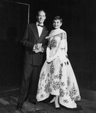 Audrey Hepburn Photo - Audrey Hepburn with Mel Ferrer Supplied by Globe Photos Inc