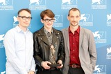Anthony Stacchi Photo - Graham Annable Isaac Hempstead-wright Anthony Stacchi Boxtrolls Photocall 71st Venice Film Festival August 31 2014 Venice Italy Roger Harvey